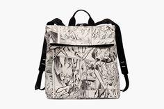 "Yoshiyasu Tamura x McQ by Alexander McQueen Fall/Winter 2014 ""Manga"" Collection Manga Collection, Mcq Alexander Mcqueen, Youth Culture, Fall Winter 2014, Samurai, Fashion Backpack, Bags, Handbags, Bag"