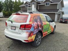 Beaners Fun Cuts vehicle wrap