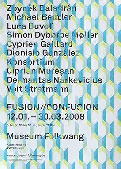 Museum Folkwang; Plakat : JUNG + WENIG