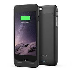 iPhone 6 Battery Case, Anker Ultra Slim Extended Battery Case for iPhone 6 (4.7 inch) with 2850mAh Capacity / 120% Extra Battery [Apple MFi Certified]  (Black), http://www.amazon.com/dp/B00QG4YYWY/ref=cm_sw_r_pi_awdm_8TaOvb02N5H3G