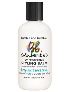 Bumble and Bumble Color Minded UV Protective Styling Balm: Try this fade-proof formula to protect your hue from the sun's tint-altering UV rays.  $28; bumbleandbumble.com #lazygirl #hair