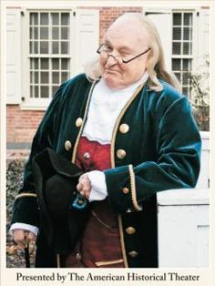 Athertyn Enrichment Series - Dean Bennett as Ben Franklin: Spend an evening learning little known facts about one of America's most popular historic characters, portrayed by Dean Bennett, one of the area's best Ben Franklin impersonators...  Read the full story>>
