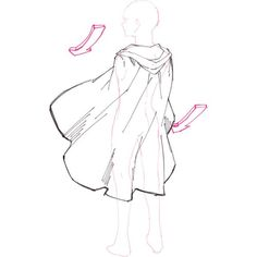 19 New Ideas for drawing clothes cape 19 New Ideas for drawing clothes cape Drawing Techniques, Drawing Tips, Art Drawings Sketches, Cool Drawings, Wie Zeichnet Man Manga, Drawing Body Poses, Gesture Drawing, Drawing Anime Clothes, Poses References