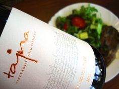 Rizling Vlašský z vinárstva Tajna a Hovädzie so šalátom ... skvelý obed v…