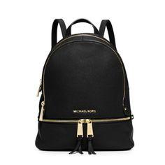 Black Micheal Kors backpack