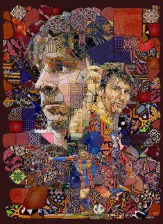 Lio Messi: Els fragments de Barcelona, project by Charis Tsevis - ego-alterego.com