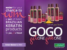 If you want SMOOTH, HEALTHY looking Hair you have to enter this #giveaway! Win for a friend too!