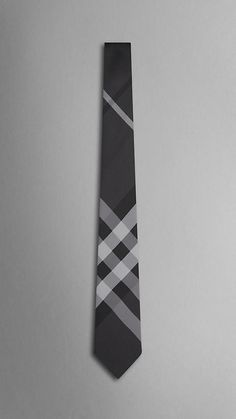 Fancy - Tonal Check Silk Tie by Burberry Sharp Dressed Man, Well Dressed Men, Mans World, Suit And Tie, Swagg, Silk Ties, Just In Case, Men Dress, Cool Stuff