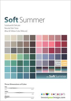 Colors for a Soft Summer