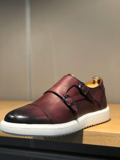 Shoes Men, Red Shoes, Men's Shoes, Calf Leather, Leather Shoes, Cap Toe Shoes, Monk Strap Shoes, Shoe Collection, Shoe Game