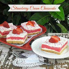 Strawberry Cream Cheesecake