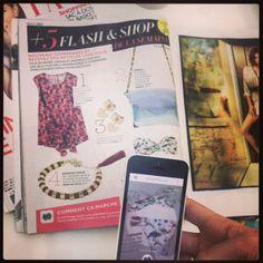 Nouveau dans GRAZIA : Découvrez la nouvelle rubrique #FlashAndShop qui va révolutionner votre shopping... Repérez vos articles coup de coeur, flashez-les et shoppez-les immédiatement avec l'appli Zoomdle !  iPhone : https://itunes.apple.com/fr/app/zoomdle/id733017441?mt=8Android : https://play.google.com/store/apps/details?id=com.smartsy.zoomdlehl=fr