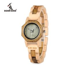 43748311d3bbdf BOBO BIRD Newest Nature Wood Watch For Women Creative Design Octagon Quartz Watches  Gift Box relogio feminino