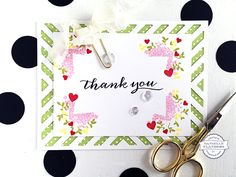 Thank you card by Danielle Flanders
