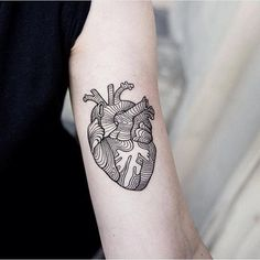 48 Geometrically Pleasing Tattoos - Every single one on this list is gorgeous!