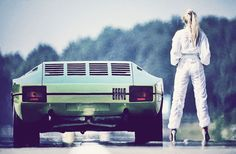 Bertone Lamborghini Bravo concept car (from 1974)