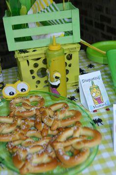 Knot Nice Pretzel & Disgusting Mustard - The Grossery Gang - CAMDEN'S 5th Birthday