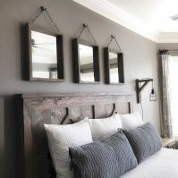 Rustic master bedroom farmhouse style remodel ideas (35)