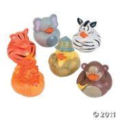 Safari Rubber Duckies
