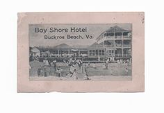 Here's a link to today's story on the glory days of the Bay Shore Hotel, which became a mecca for black vacationers during the Jim Crow era. http://bit.ly/1gR9Lgd -- Mark St. John Erickson