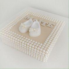 É ou não é um sonho essa caixa personalizada??? ✨✨ #caixinhas #caixinhasdeperola #caixapersonalizada #caixinhasdecoradas #quartodebebe #maedemenina #baby #bebe #enxoval #perolas #mundoperolado #ehsucesso