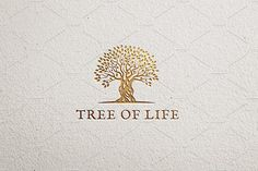 Tree Of Life Logo Template by vraione on Logo Design, Branding Design, Typography Logo, Logo Branding, Tree Of Life Logo, Horse Logo, Tree Shop, Tree Logos, Initials Logo