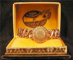 antique Carmen expandable sweetheart bracelet