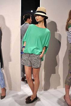 JCREW Spring 2012....I'm not a big animal print fan....but I love this!