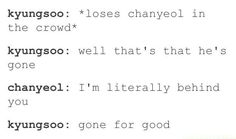 Kyungsoo (D.O) and Chanyeol - EXO