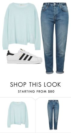 """""""Untitled #261"""" by jasmine-rlrh on Polyvore featuring J Brand, Topshop and adidas"""