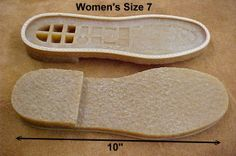 DIY shoes - a variety of soles from France.