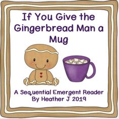 Here is an original Gingerbread Man emergent reader, told in a sequential, order of events style. Includes a few comprehension questions and a related ordinal math activity.Fits well into any Gingerbread, Fall, or Thanksgiving, or Fairy Tale theme.Peace, Heather J...
