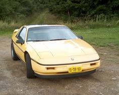 Pontiac Fiero Formula 1988