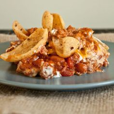 Oven Baked Frito Pie