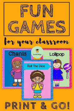 Mix up your classroom lesson time with some fun class games! Great ice breakers for going back to school or on the first day of school. This bundle of games are great because they can be adapted for any grade - primary, elementary, middle and high school. #teacherspayteachers #tpt #printablegames
