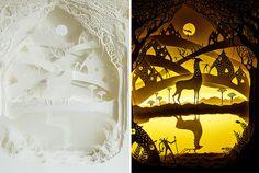 backlit-paper-sculptures-shadow-art-hari-deepti-7