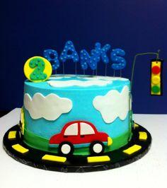 Transportation cake - by lilycakes @ CakesDecor.com - cake decorating website