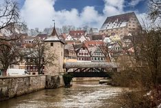 Step into this fairy tale Fachwerk (half-timbred) town in southern Germany. It will steal your heart with its covered bridges, friendly folk and good food.