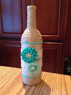 Artesanías de botellas de vino