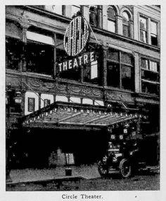 Circle Theater Portland Oregon 1913
