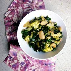 Detox Broccoli Bean Salad by pancakeprincess