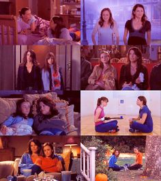 Well, I believe it's those adorable Gilmore Girls. My, how we have missed them. I hear they're different now.