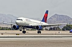 N316NB Delta Air Lines 2000 Airbus A319-114 - cn 1249 - McCarran International Airport, Las Vegas