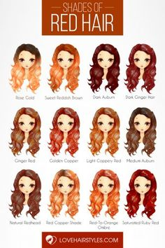 24 Seductive Shades Of Red Hair For Any Complexion And Eye Color - red hair - Hair Color Hair Color Auburn, Auburn Hair, Red Hair Color, Cool Hair Color, Eye Color, Balayage Hair, Ombre Hair, Balayage Highlights, Auburn Balayage