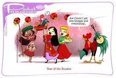 Pocket Princesses 190: Happy Lunar New Year! (Please do not repost! Share and reblog PP from amymebberson.tumblr.com or www.facebook.com/pocketprincesses )