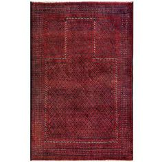 Overstock.com is proud to donate all profits from Worldstock Fair Trade purchases to Charity. Shop Worldstock for everyday discount prices and everyday free shipping over $50*. Save on Herat Oriental Semi-antique Afghan Hand-knotted Tribal Balouchi Red/