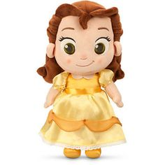 Toddler Belle Plush Doll Beauty and the Beast Small