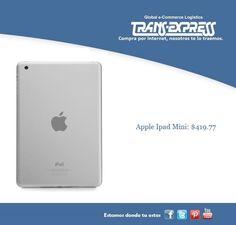Puedes adquirir esta ipad mini para papá o para tus utilidades en la oficina o universidad. Costo del artículo puesto en El Salvador $419.77 http://amzn.com/B00746W9F2