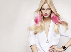 It Looks P/E 2014 de L'Oreal Professionnel : Le Pink Splashlight porté par la IT GIRL Poppy Delevingne