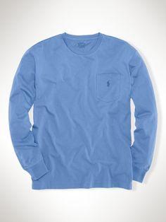 Classic Long-Sleeved T-Shirt - Polo Ralph Lauren Tees - RalphLauren.com